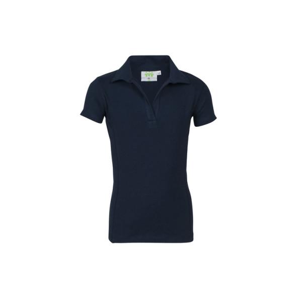 Poloshirt Mädchen, kurzarm, Stretch, Modell DFSG4